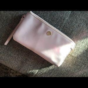 Lululemon pink wristlet wallet